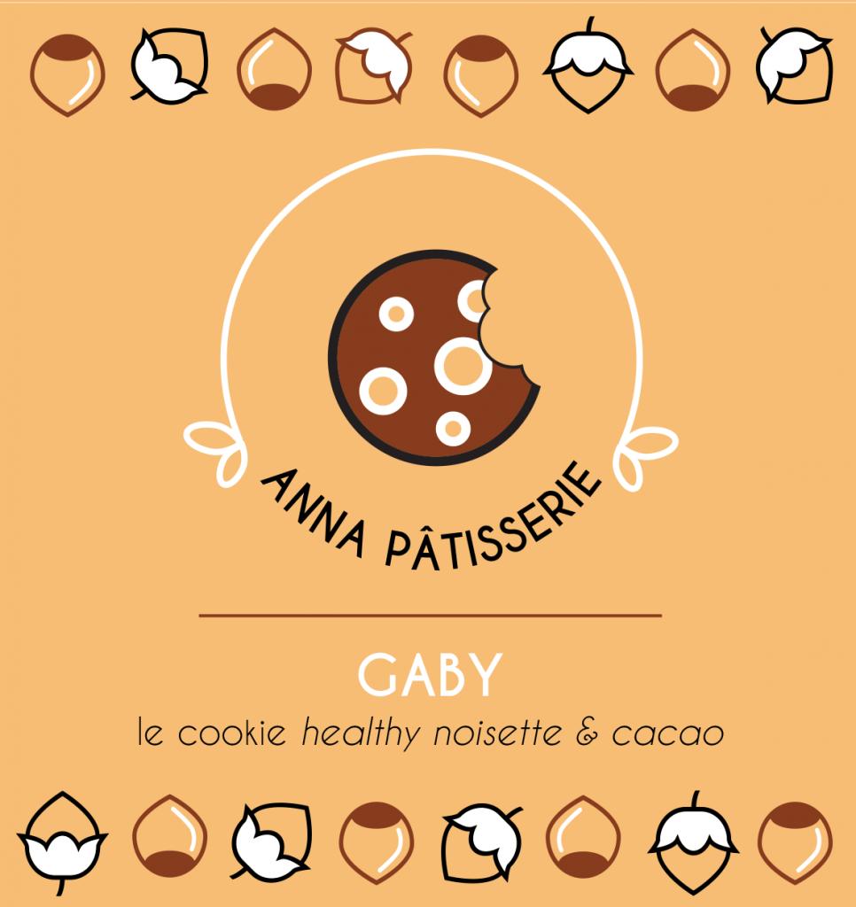 graphiste de l'étiquette Gaby le Cookie